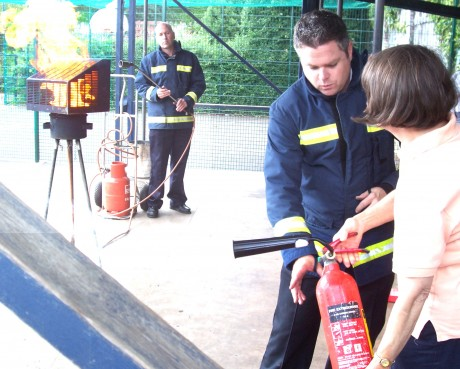 BAND Ltd. Childcare & Playwork Training: Picture of Fire Warden Training