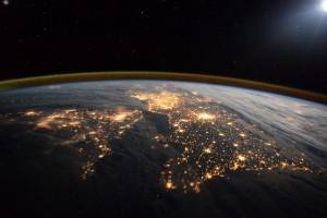 Tim Peake space image