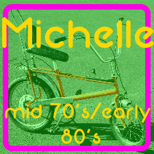 Michelle (Young in the mid 70's/early 80's)