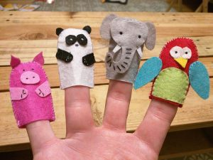 40 things to do – 37:  Put on a puppet show