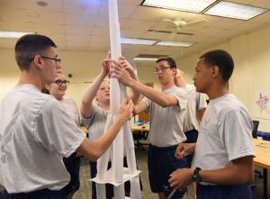 40 things to do – 39: Build the biggest rolled up paper tower