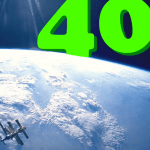 40 things to do – 40: Make a giant 40 and take a picture