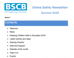 Esafety News from BSCB