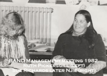 BAND Management committee 1982