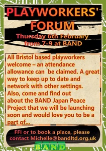 Playworkers' Forum, 06/02/20