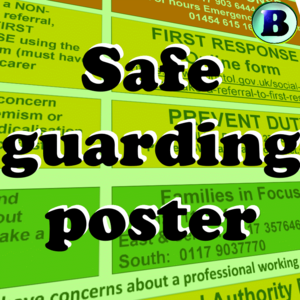 BAND Safeguarding Poster 2020