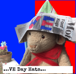 VE Day 2020 – Celebration Ideas: Newspaper hats
